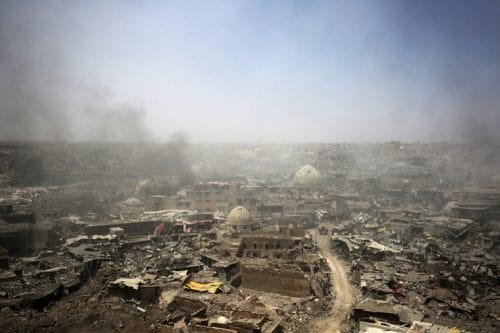 Environment a Victim of War in Iraq, Syria