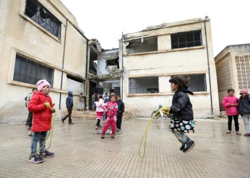 In Syria, 2 Million Children No Longer Attending School