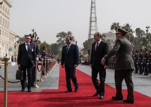 Strategic Ties Extend Russia's Influence in the Middle East and Mediterranean