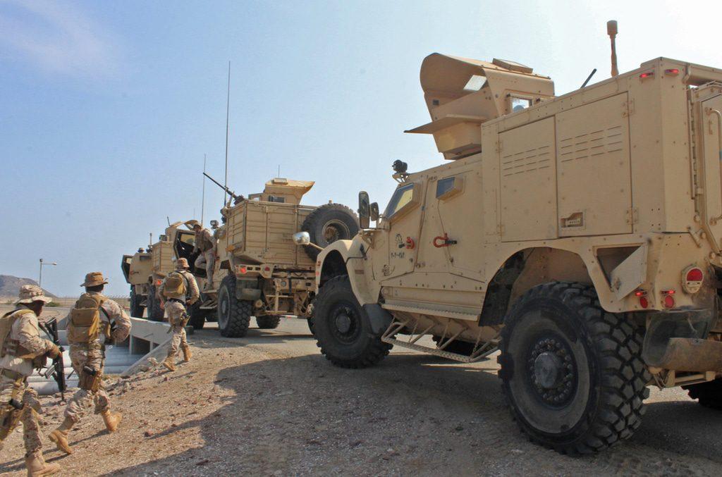 Specials- Saudi forces yemen