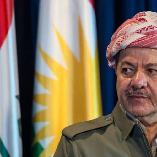 مسعود البارزاني- زعيم قدره قيادة كردستان