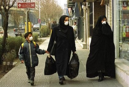 Iranian Cities Top World's Most Polluted List