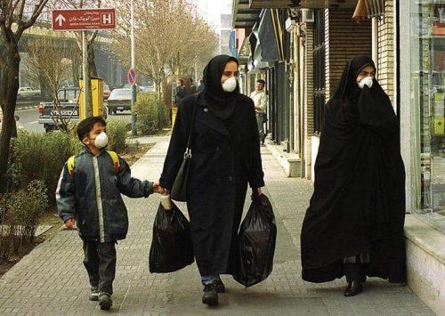 المدن الإيرانية الأكثر تلوثاً في العالم