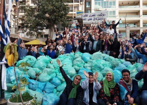 في مصر، الشباب يتحدون لمحاربة تلوث البلاستيك