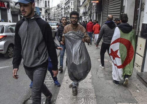 التلوث في الجزائر