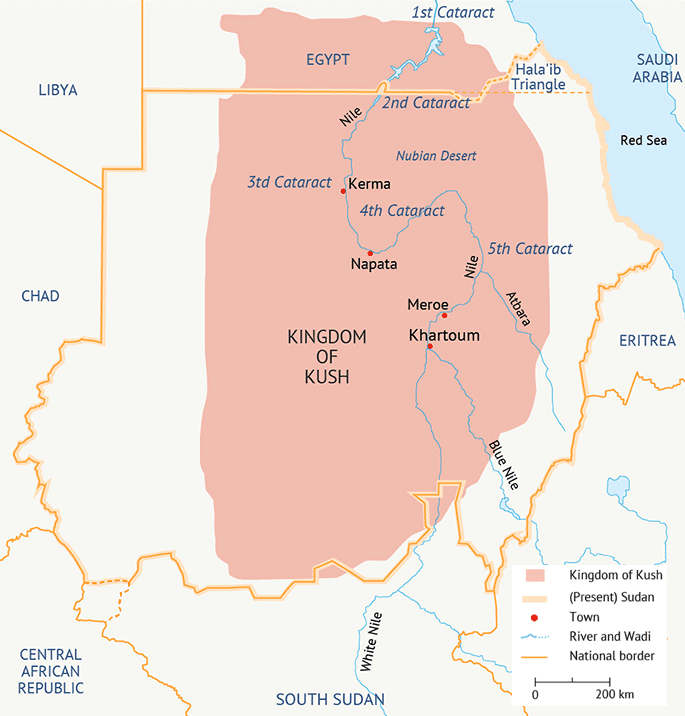 Sudan Kingdom of Kush Antiquity 700px
