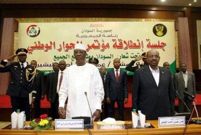 Sudan Bashir national dialogue conference Sudan governance
