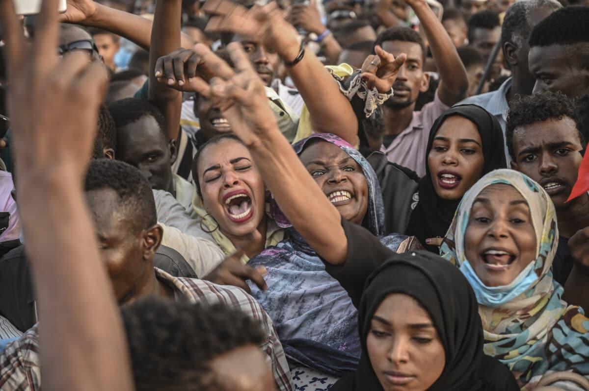 Sudan- Sudan demos