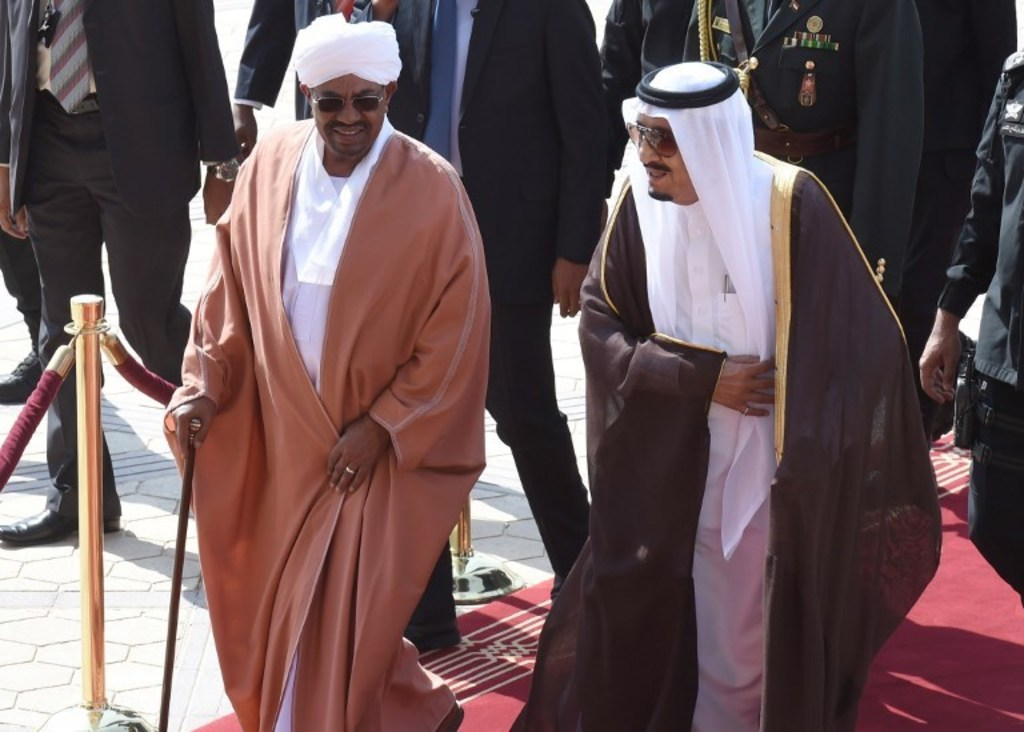 Sudan-al-bashir and king Salman