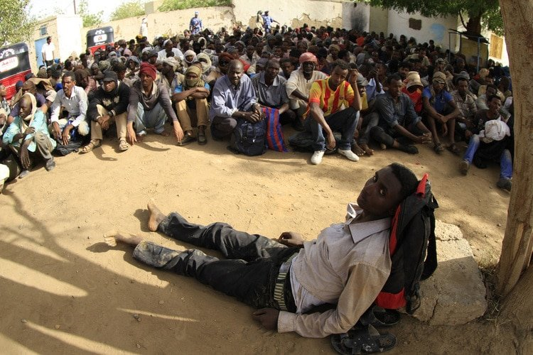 Sudan is a Source, Transit Point for Human Trafficking