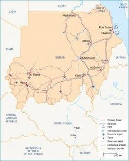Sudan Map InfraStructure 1024 500x623 1