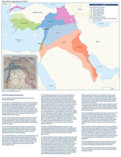 Sykes Picot map 705