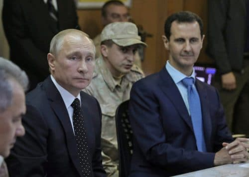 Russia Pushes for End to Conflict in Syria, Stands to Win Big from Political Settlement