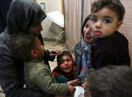 """""""Hell on Earth"""" for Residents of Syria's Eastern Ghouta as Regime Air Strikes Intensify"""