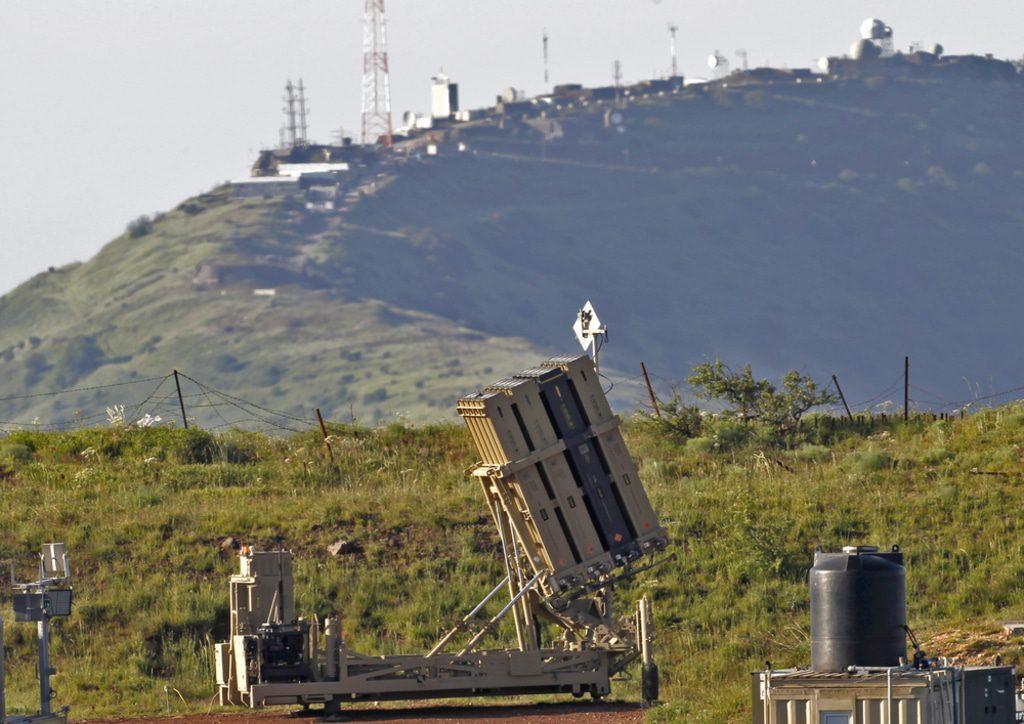 Syria- Israeli Iron Dome