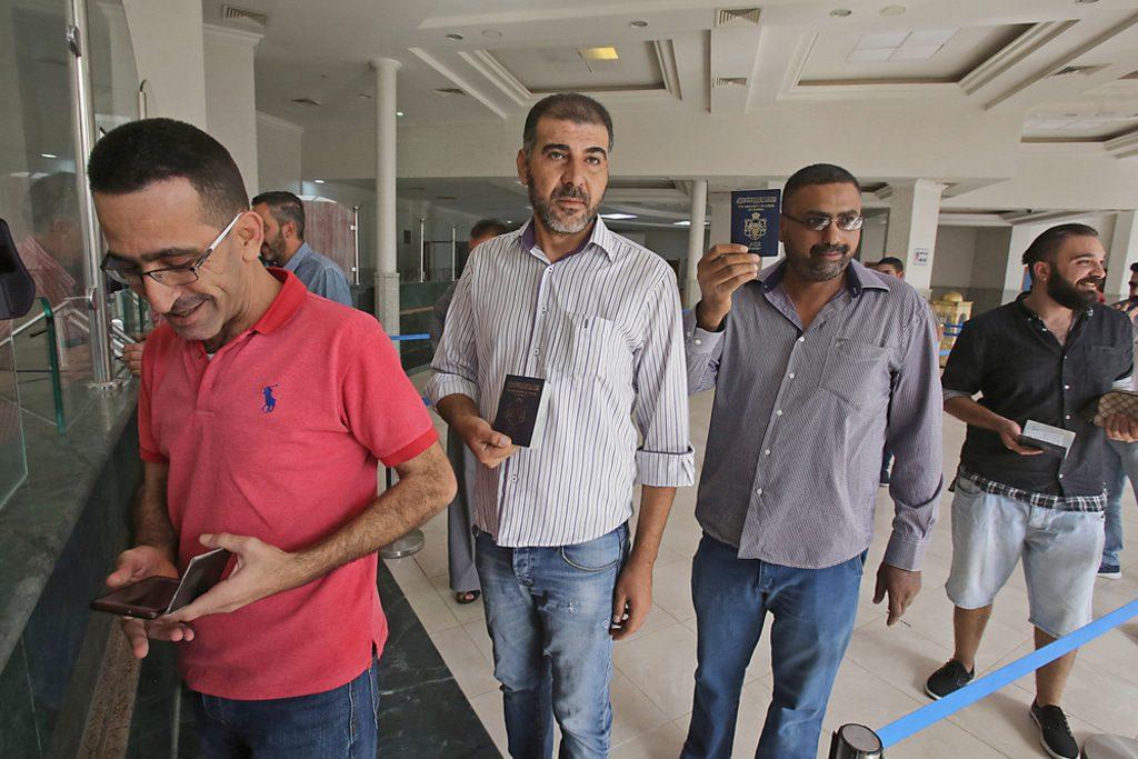 Syria Nassib crossing