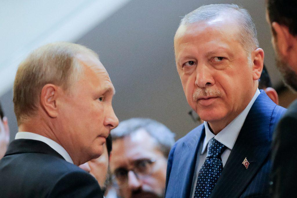 Syria- Putin and Erdogan