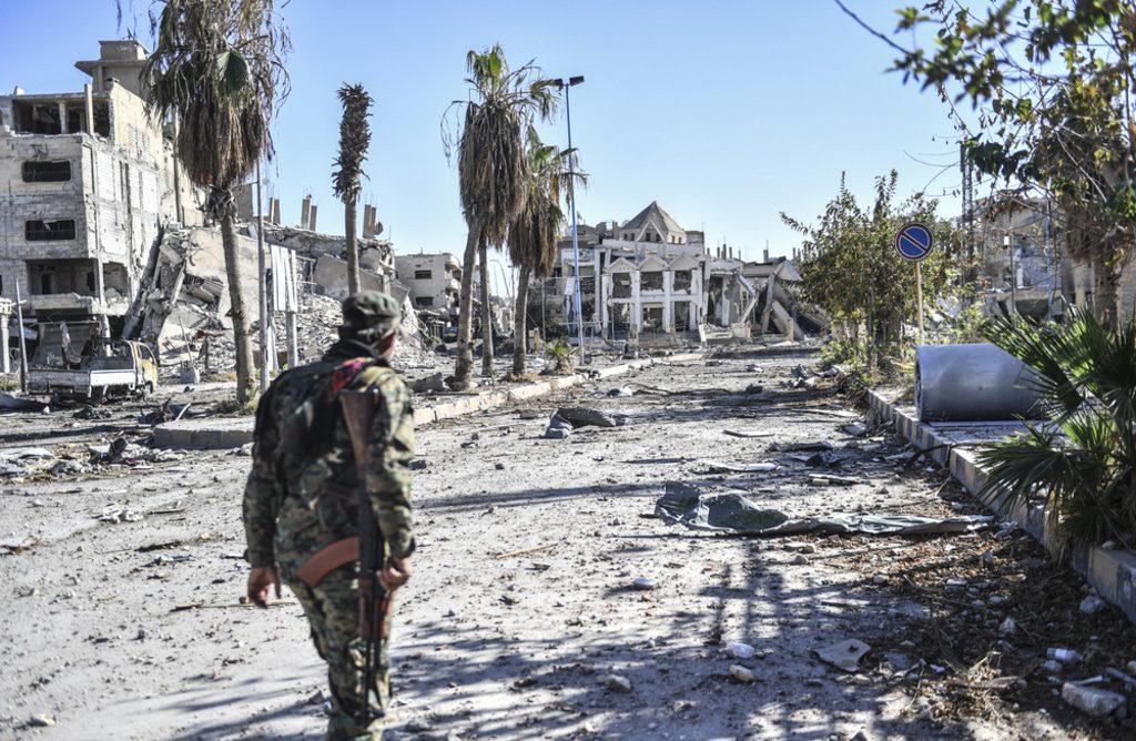 Syria- Raqqa city