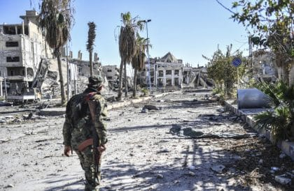 Raqqa Liberated from IS, But Who Will Pay for the Reconstruction?