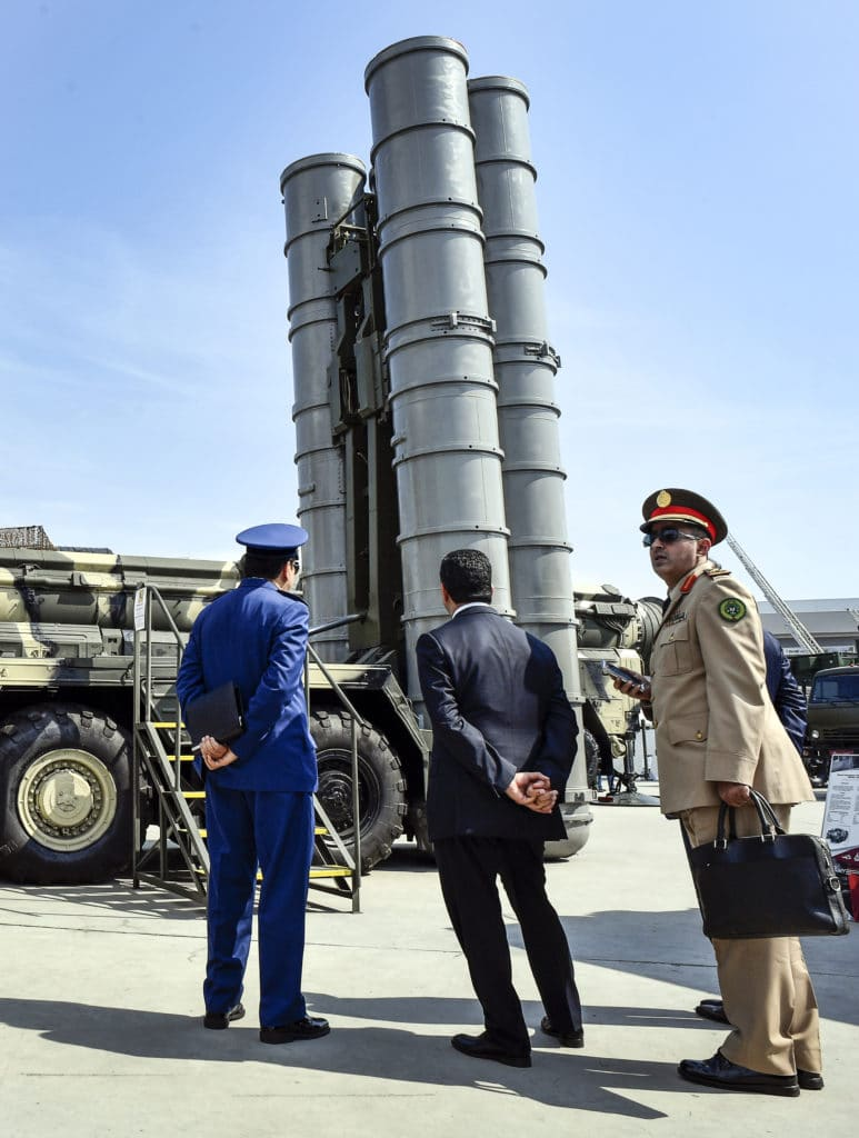 Syria- S-300 missile