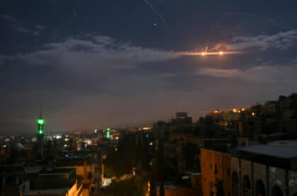 In Syria, Israel and Iran's Conflict is Escalating