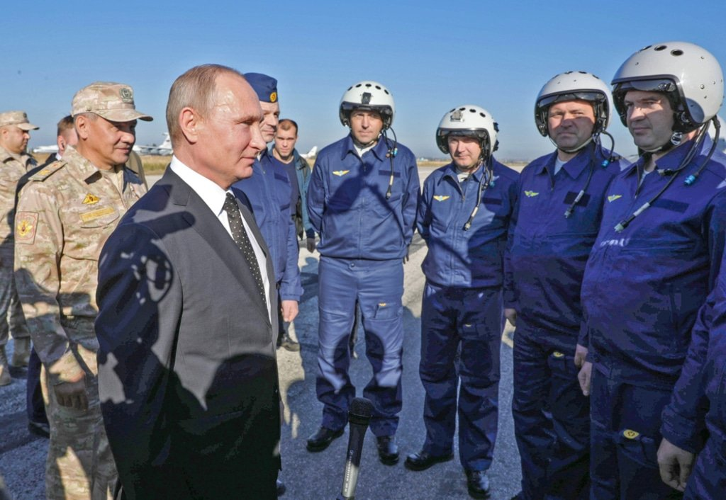 Syria- Vladimir Putin