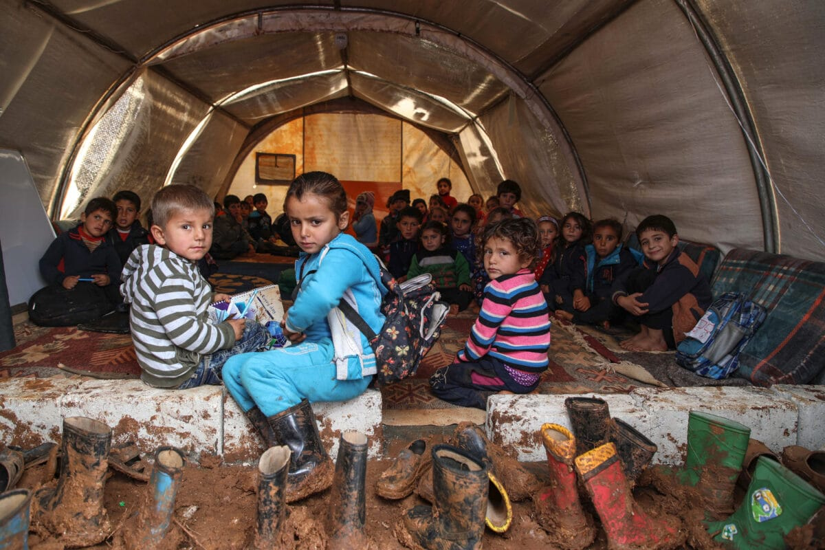 Syria- Syrian refugees
