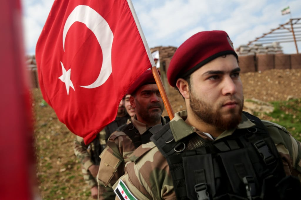 Syria- Turkish military syria