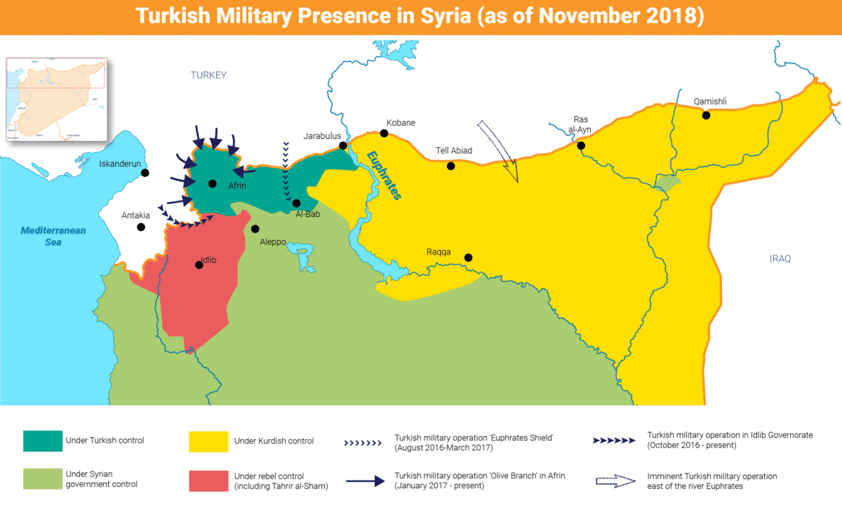 Syria- Turkish military syria