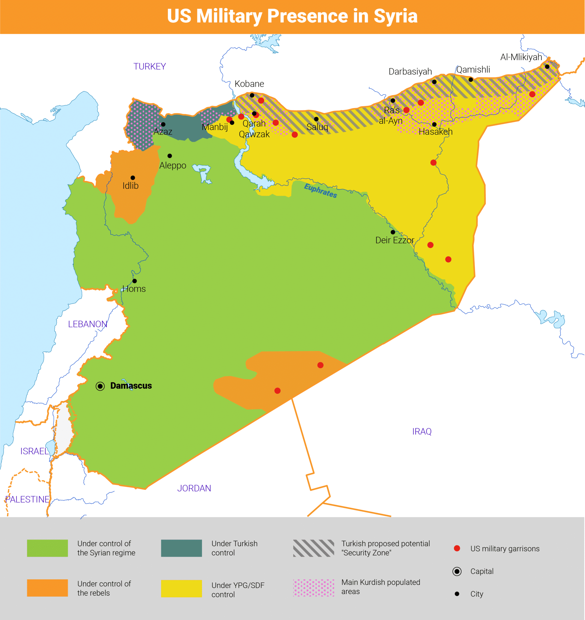 Syria US Military Zone 3000