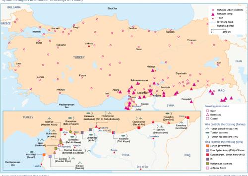 اللاجئون السوريون: ورقة مساومة تُستخدم بشكلٍ متزايد