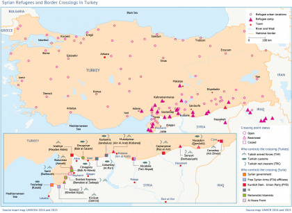 Syrian Refugees and Border Crossings in Turkey - Fanack