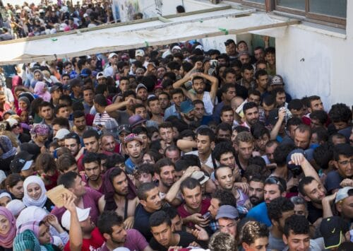 لاجئو الحرب في سوريا