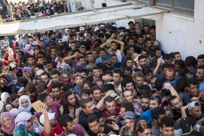 Refugees of the War in Syria