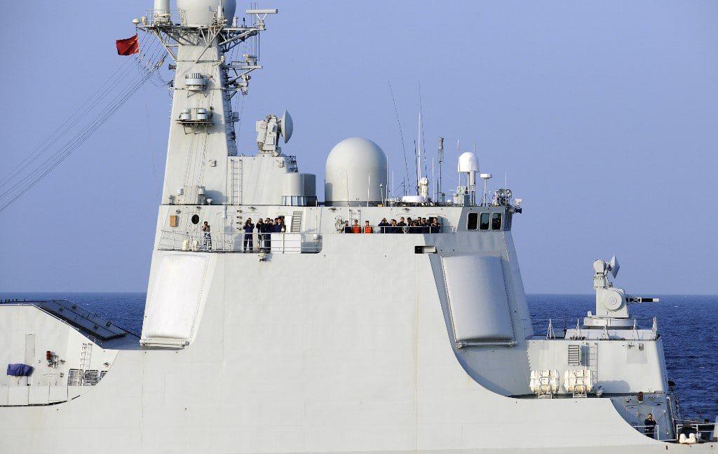 Chinese navy warship