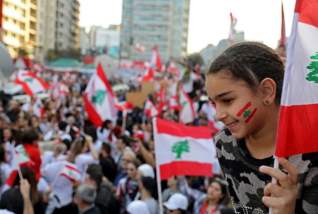 Protests lebanon