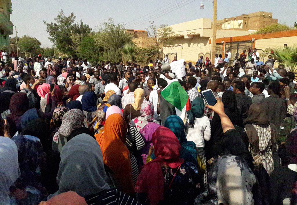 Translation- Sudan protests