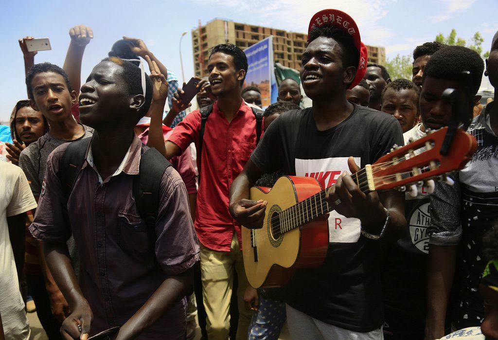 Translation- Protests sudan