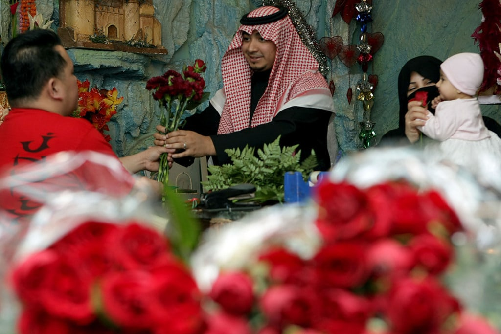Translation- Valentine's day in Saudi Arabia