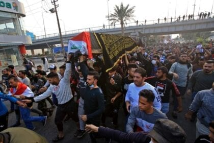 Violent crackdown against Iraq protests exposes fallacy of the country's democracy
