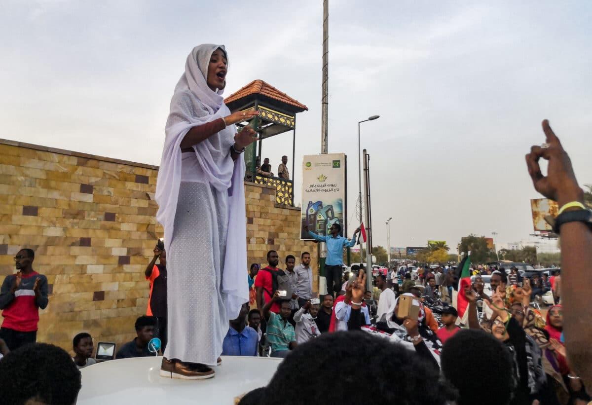 Translation- Sudanese women