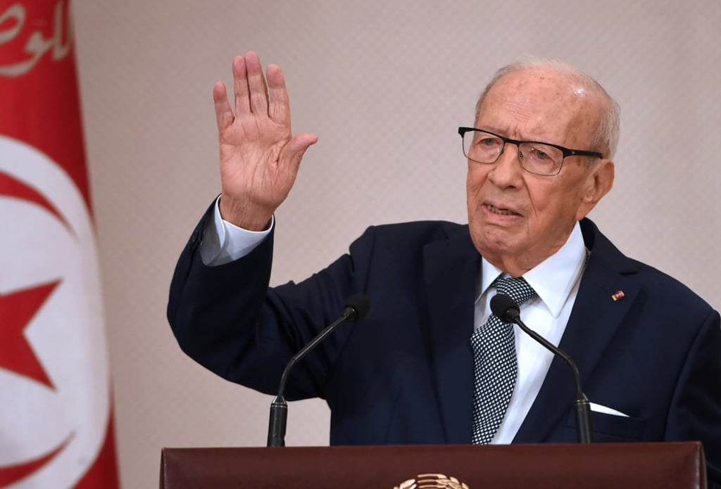 Tunisia- Beji Caid Essebsi