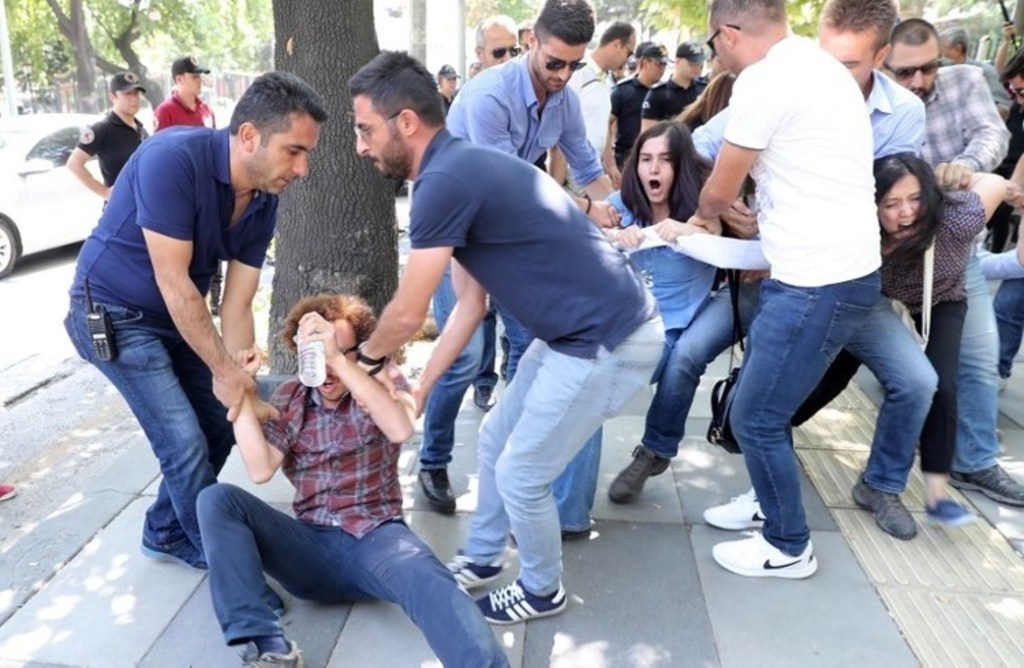 Turkey-human rights-turkish protestors