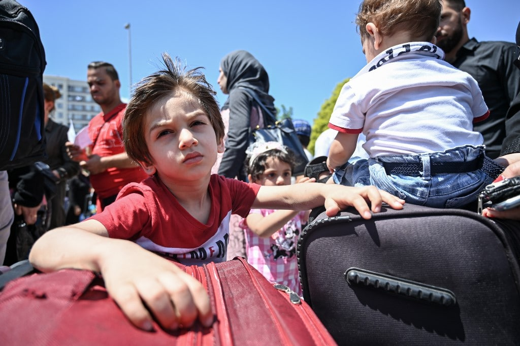 Turkey- Syrian refugees turkey