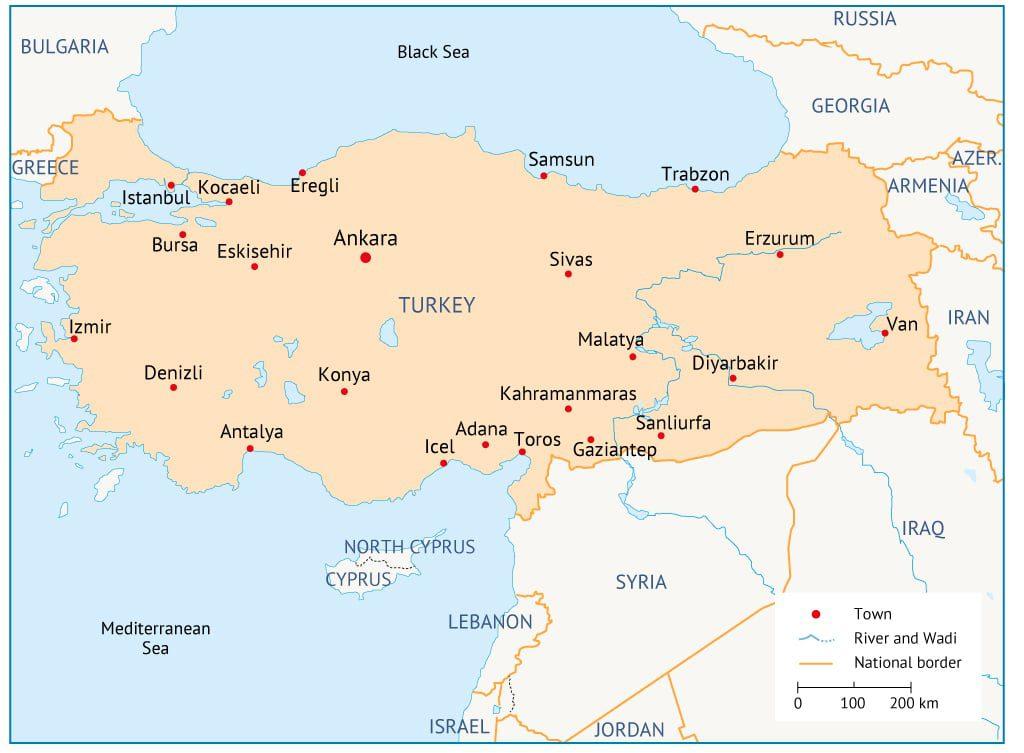 Turkey map 1024 1