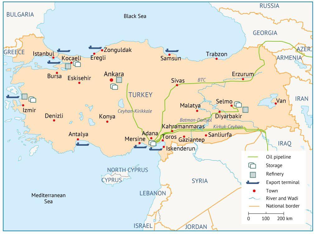 Turkey oil infrastructure 1024