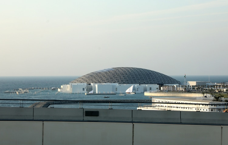 UAE- Louvre Museum in Abu Dhabi
