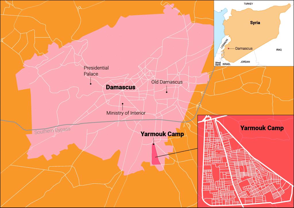 Syria- Yarmouk camp