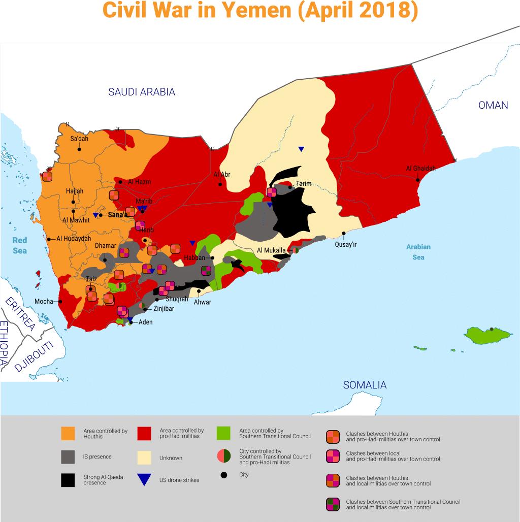 Yemeni Civil War 1024