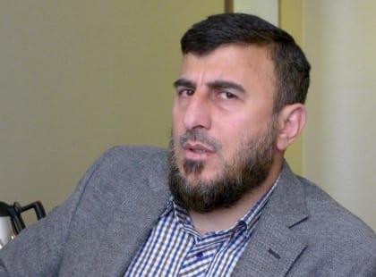 زهران علوش وجيش الإسلام